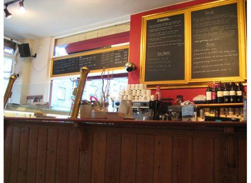 jericho cafe interior