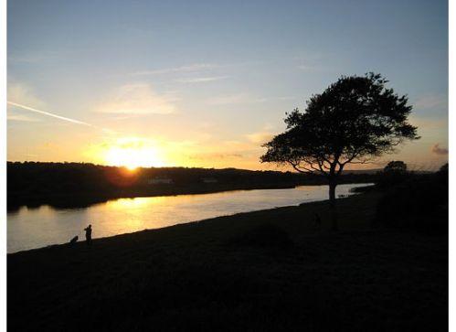 menlo sunset