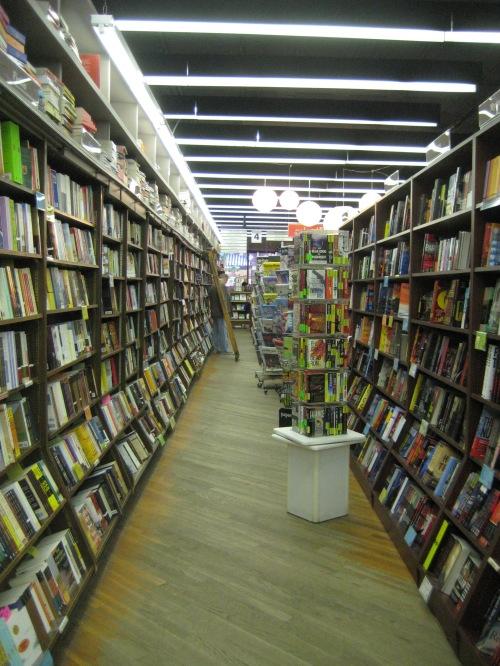 brookline booksmith shelves interior