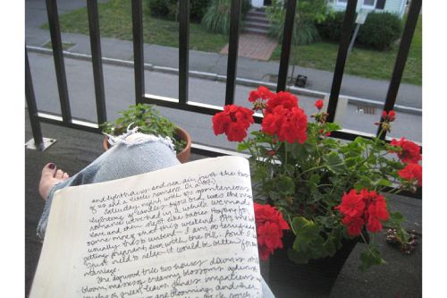 patio journal time