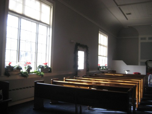 flowers church advent light