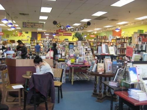 porter square books bookstore interior