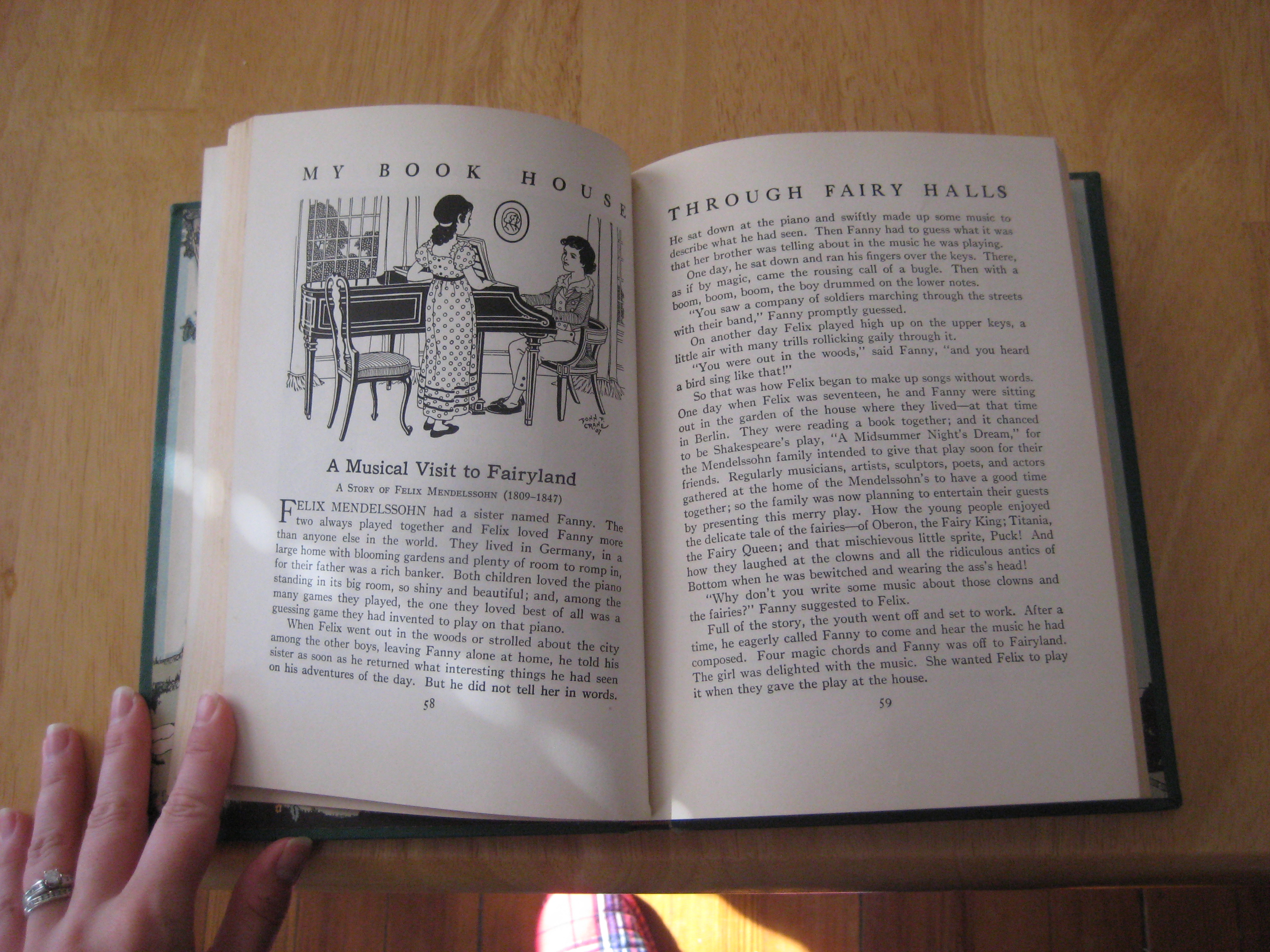 felix mendelssohn music midsummer night's dream my book house