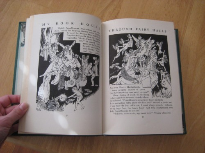 midsummer night's dream bottom donkey fairies my book house