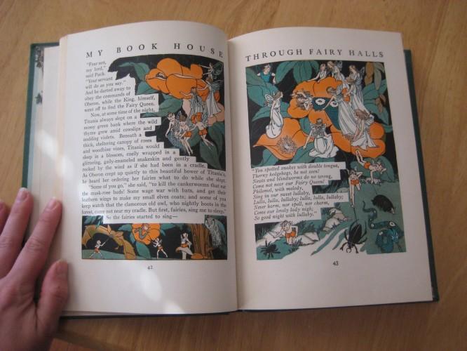 midsummer night's dream fairies titania my book house