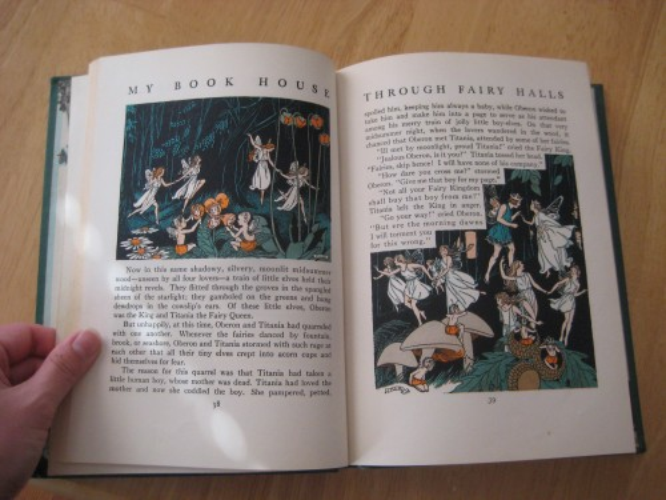 fairies midsummer night's dream my book house