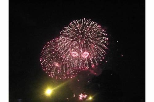 fireworks boston july 4 red