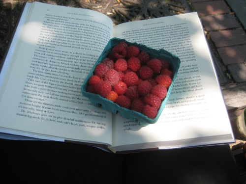 raspberries farmer's marker