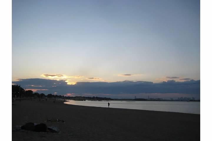 beach sunset summer