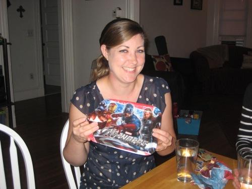 superhero plates cupcakes party