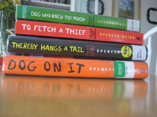 chet and bernie mystery books dogs