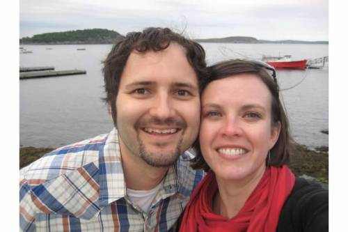 maine bar harbor smiling photo