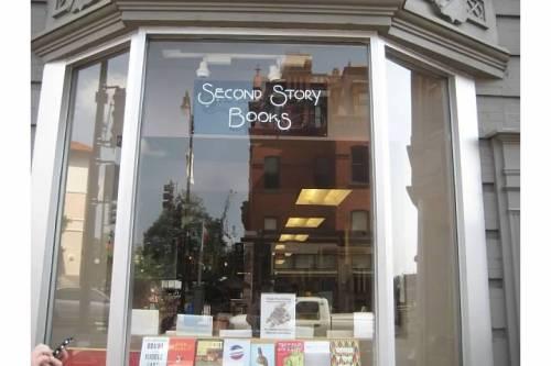 second story books exterior washington dc