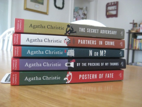 tommy & tuppence series agatha christie