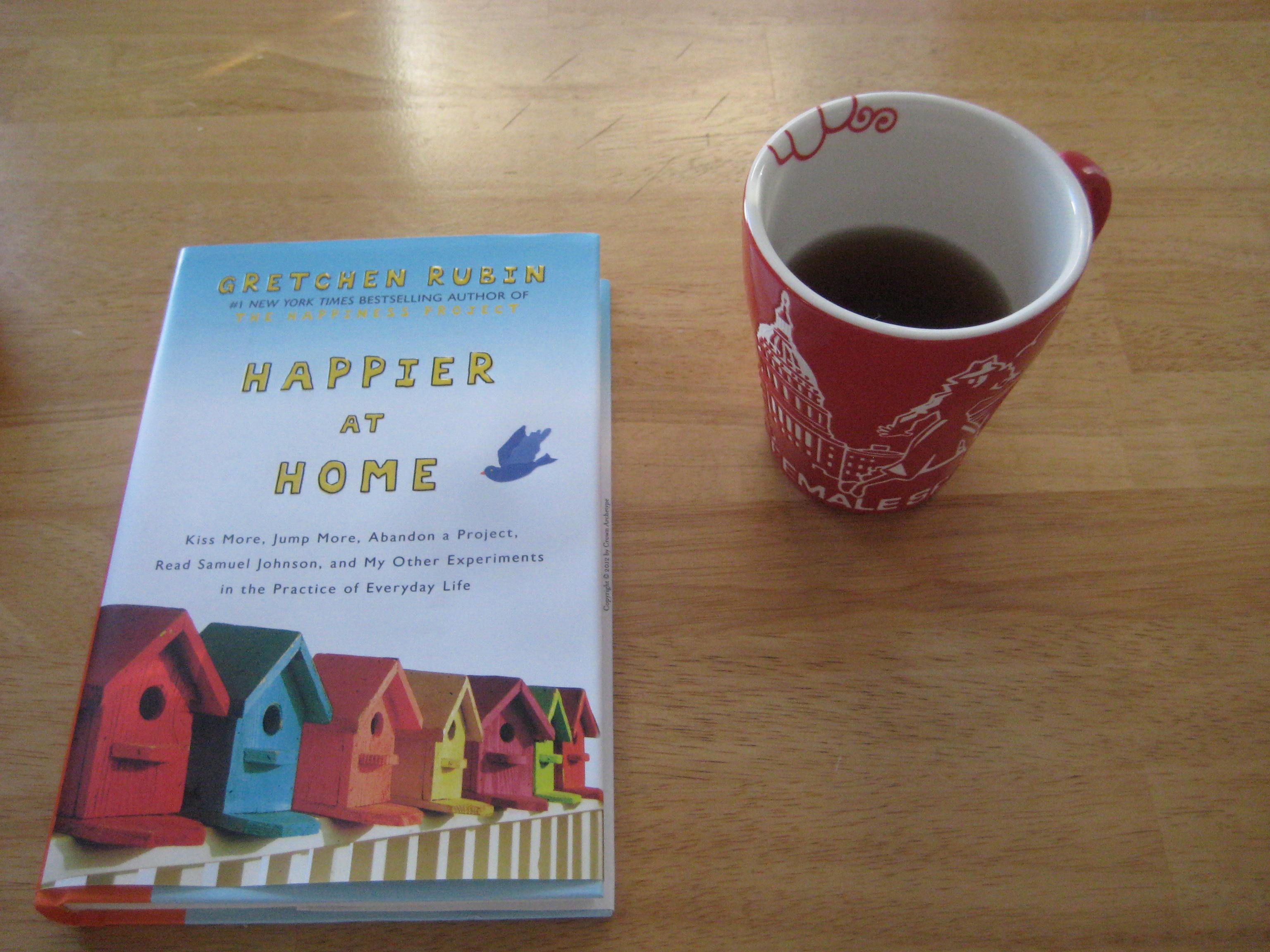 happier at home book tea