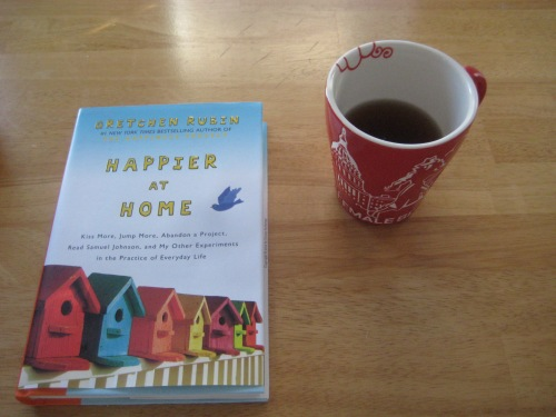 happier at home book tea