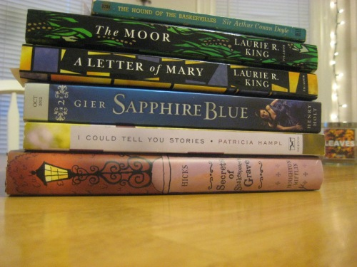 sherlock holmes ya lit mystery books mary russell