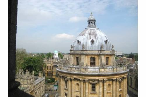 radcliffe square radcliffe camera oxford england