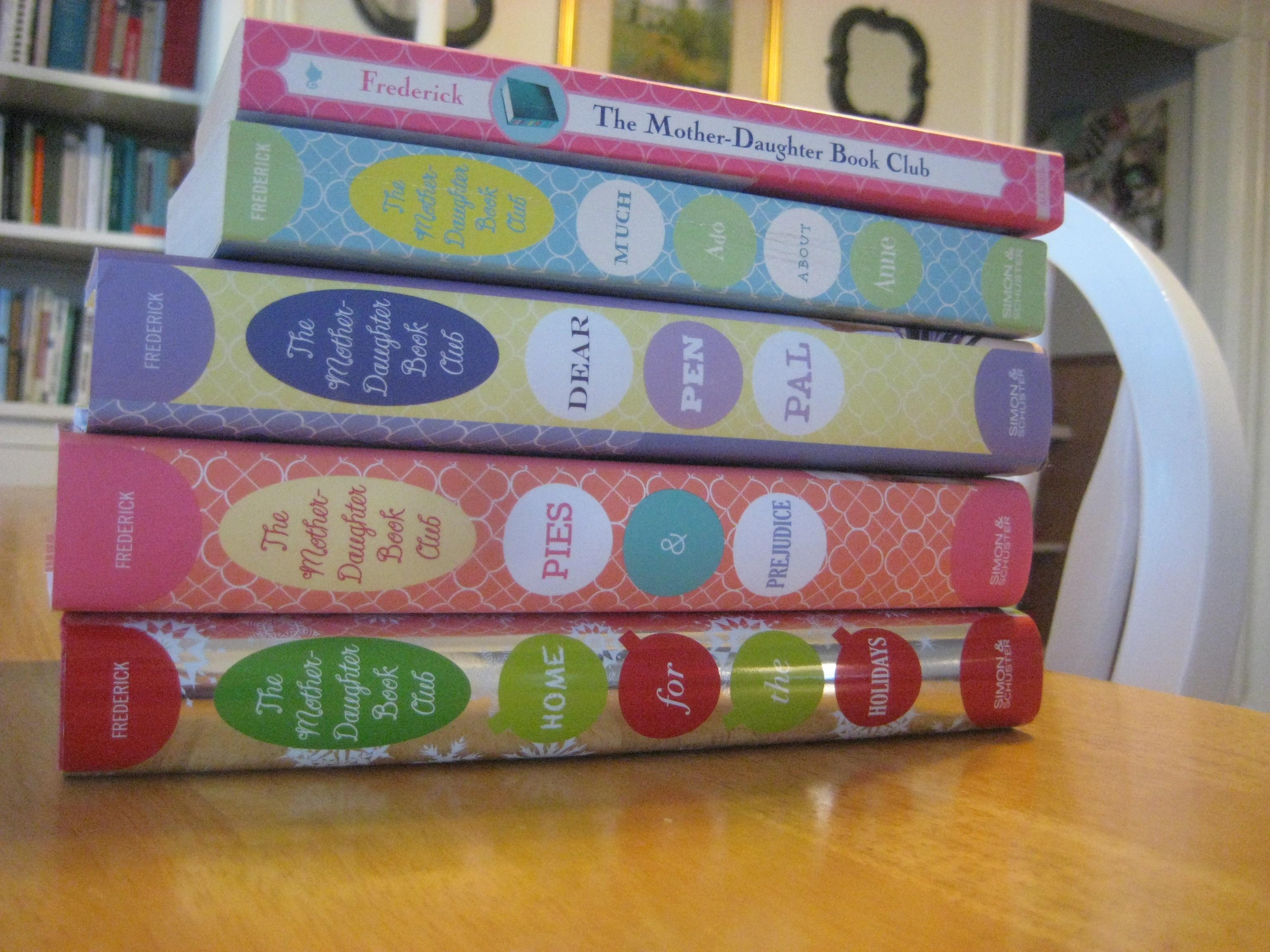 mother daughter book club series heather vogel frederick
