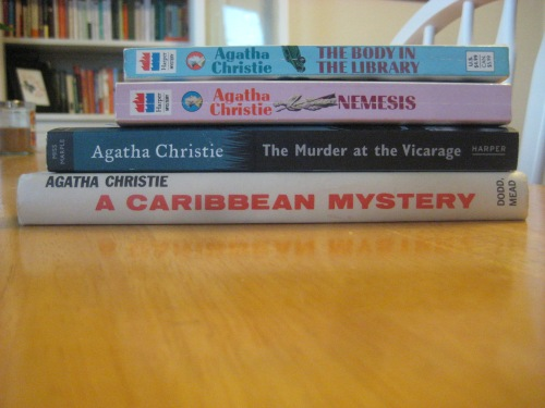 miss marple books agatha christie