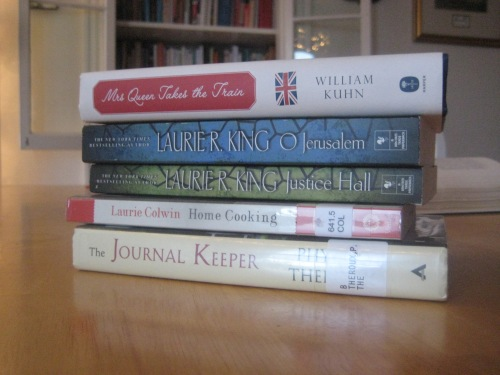 october books mary russell laurie colwin mrs queen