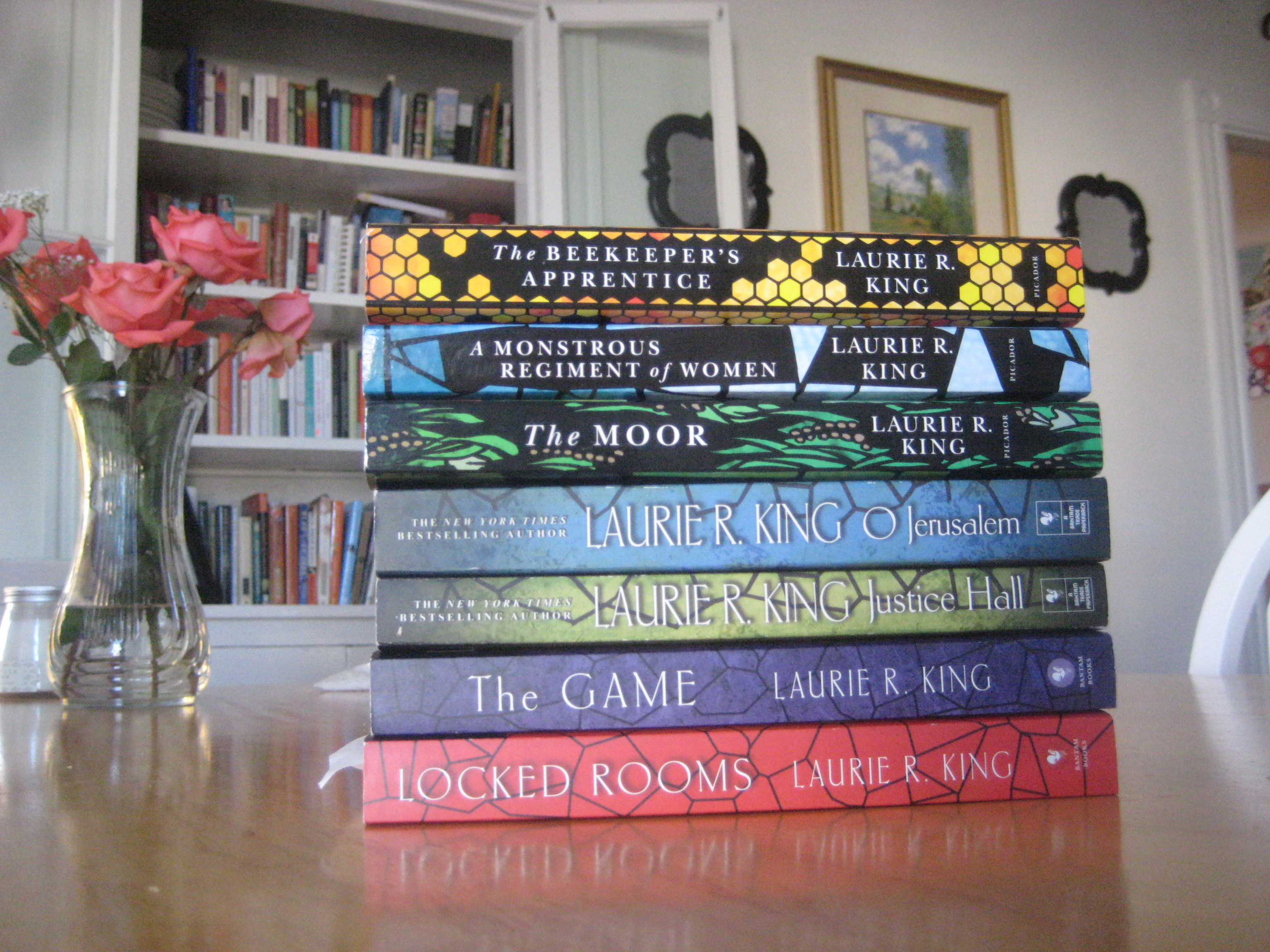 mary russell books series sherlock holmes mystery