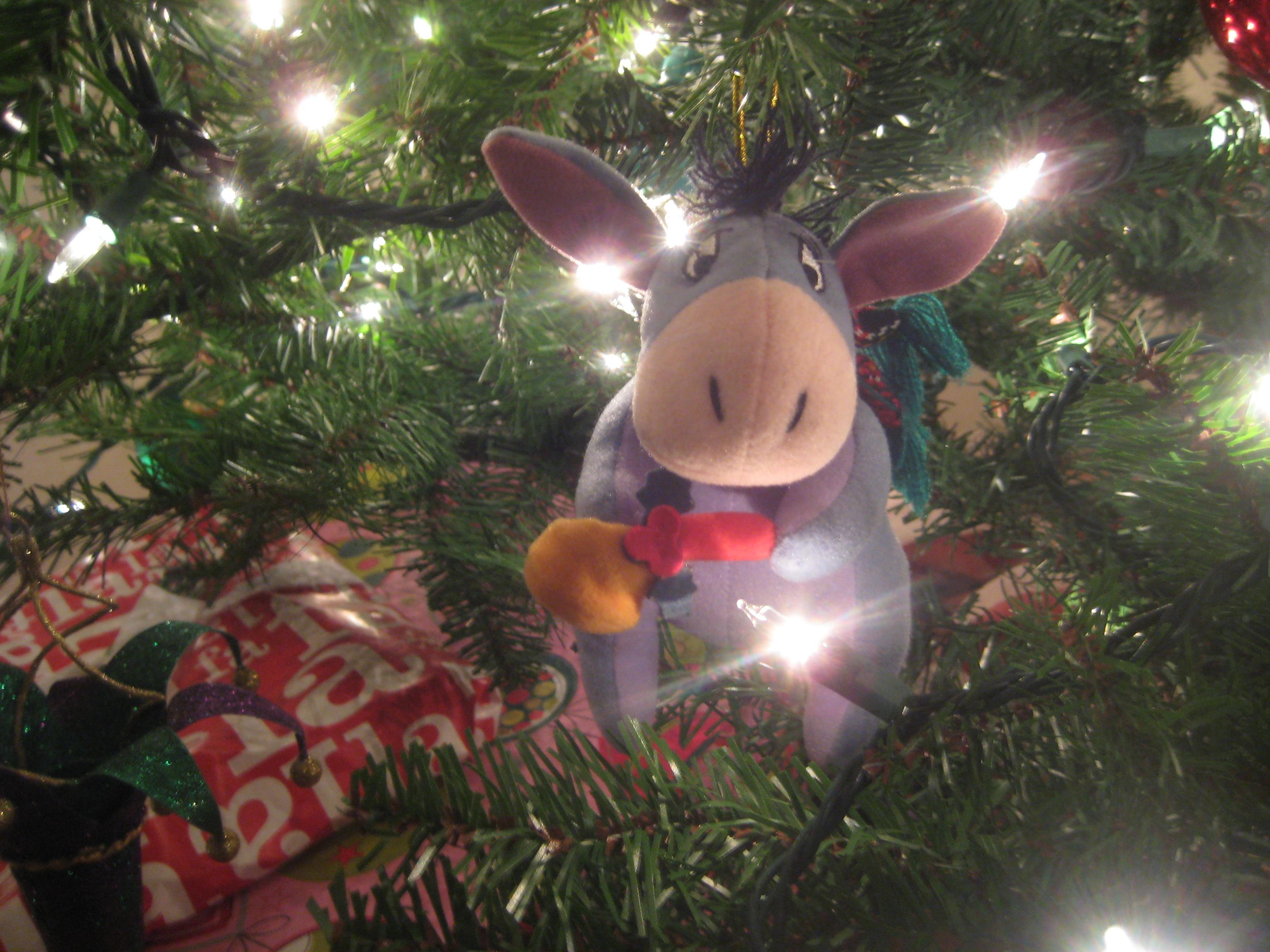 eeyore bell ornament