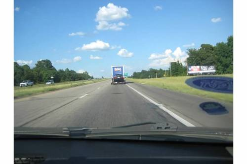 road trip car highway sky moving boston