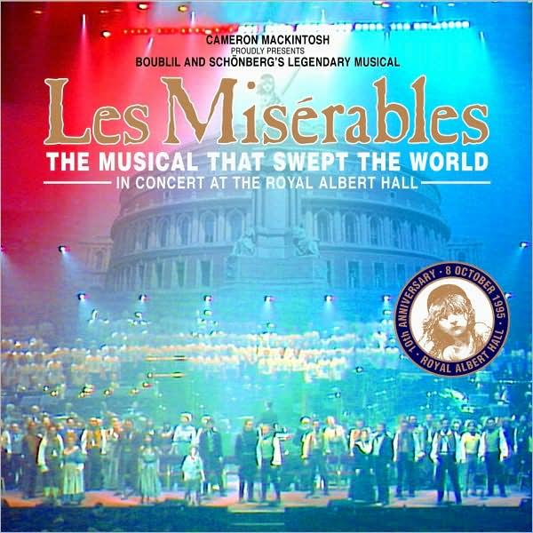 les miserables 10th anniversary concert soundtrack