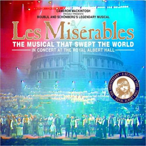les miserables 10th anniversary concert soundtrack