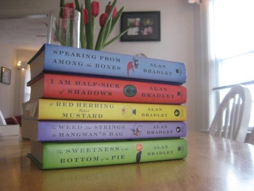 flavia de luce mystery series books alan bradley