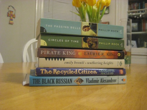 january books passing bells wuthering heights