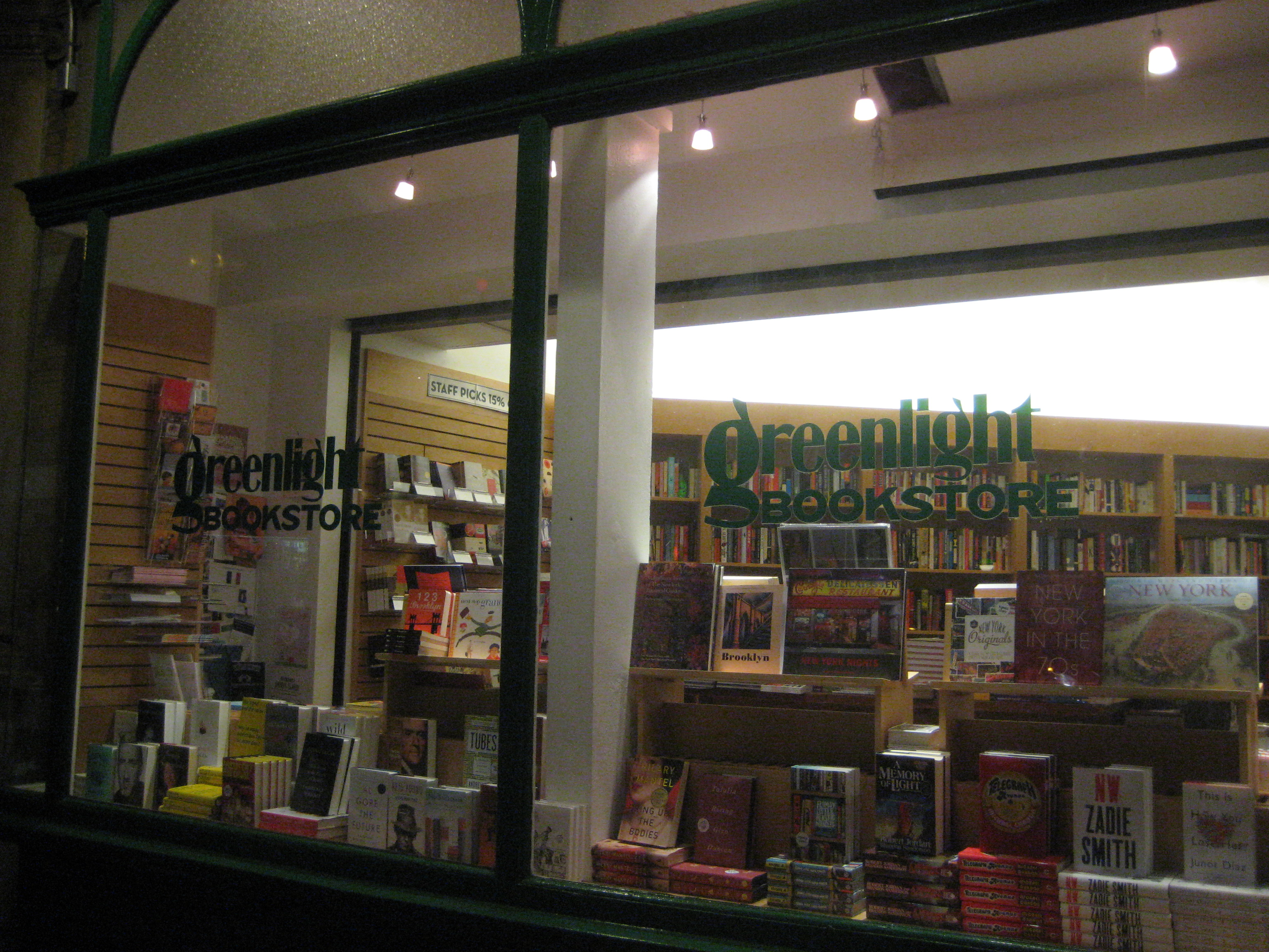 greenlight bookstore brooklyn