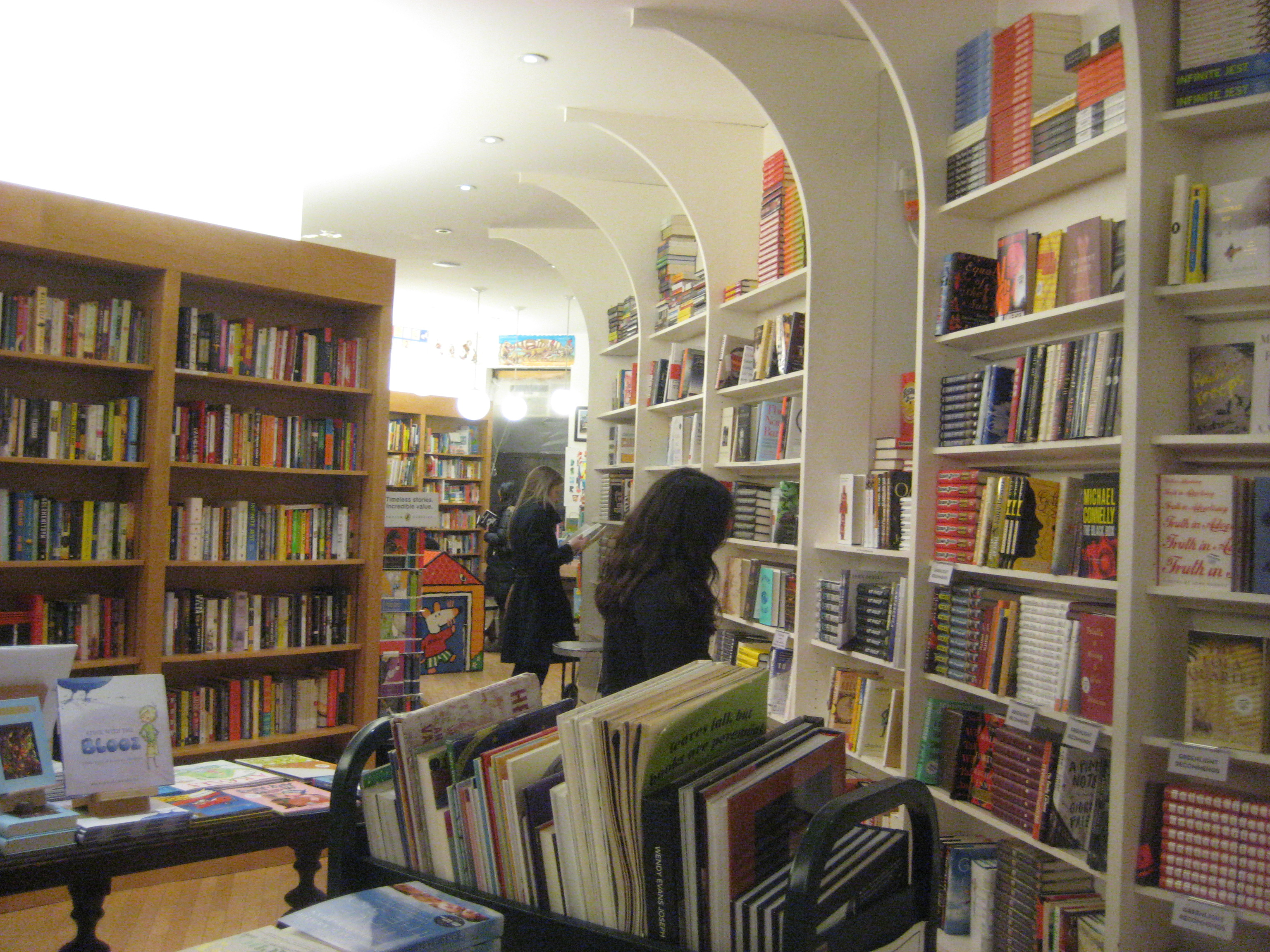 greenlight bookstore interior brooklyn