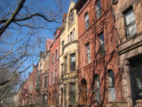 brownstones brooklyn nyc red