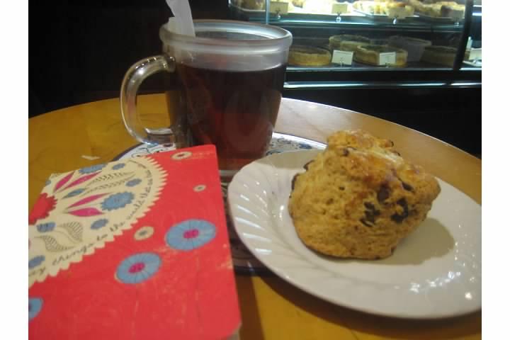 scone tea journal l'aroma cafe boston
