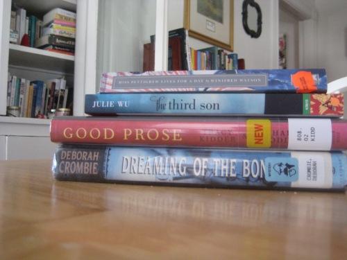 march books julie wu deborah crombie