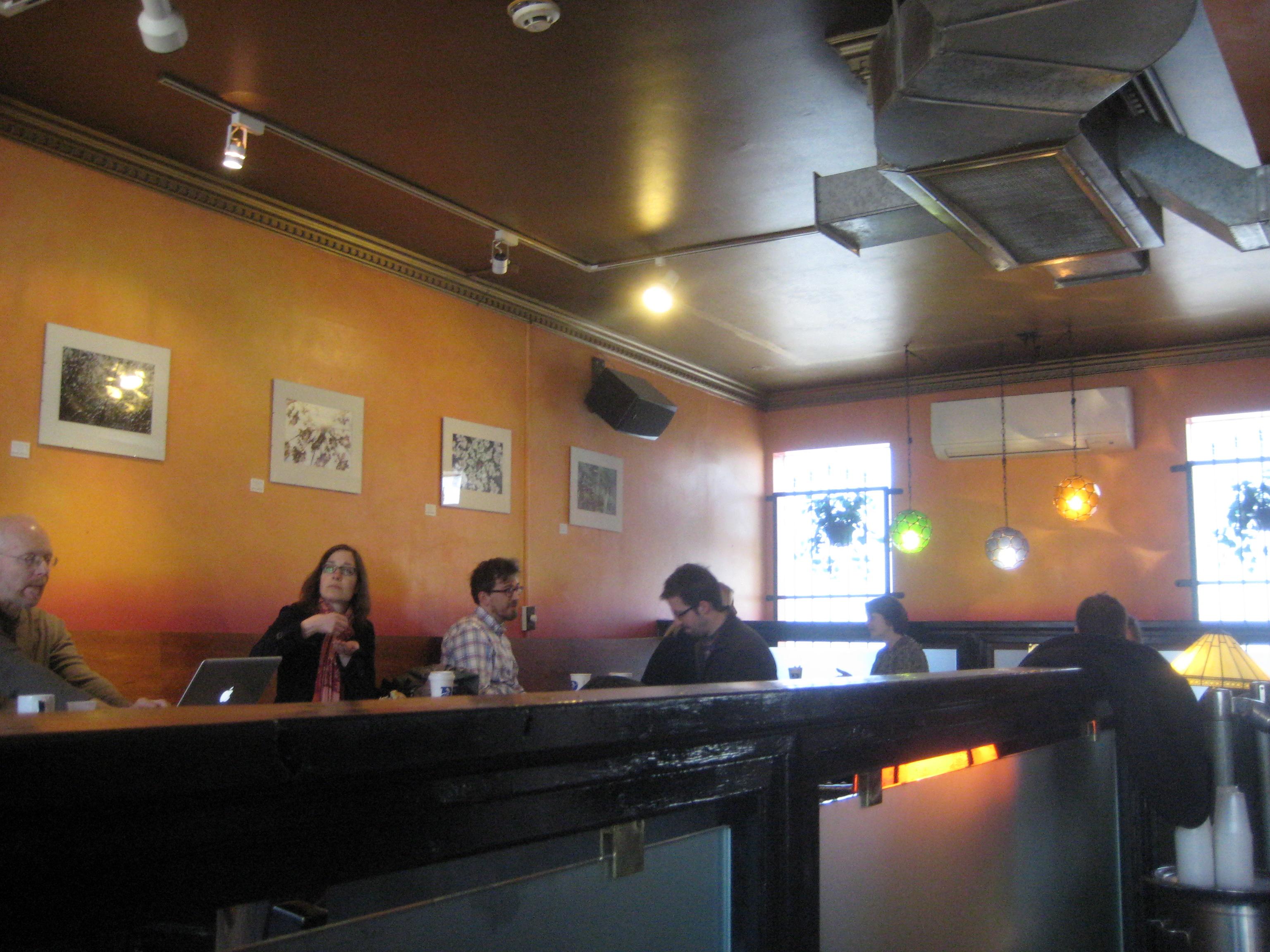 darwins cafe interior cambridge ma