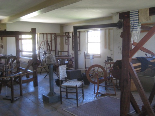 shaker looms wheels