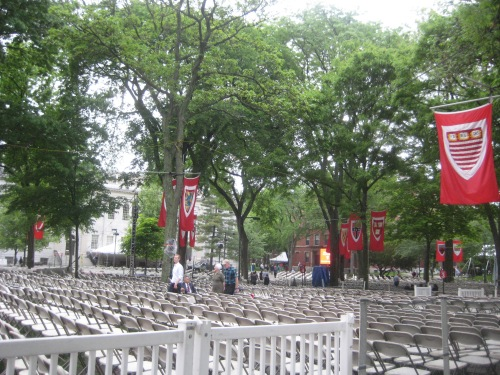 tercentenary theatre harvard commencement