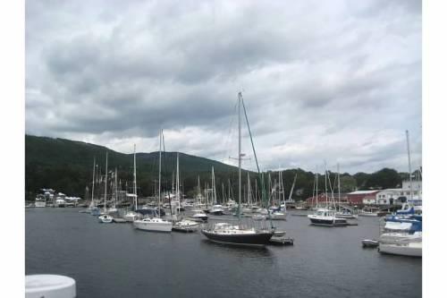 camden maine harbor boats