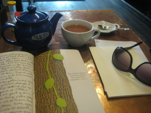 tea journal sunglasses