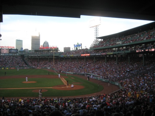 fenway park baseball boston
