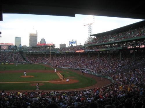 fenway park baseball boston