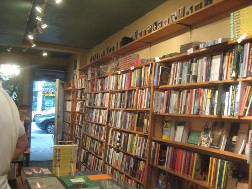 argo bookshop interior montreal quebec canada