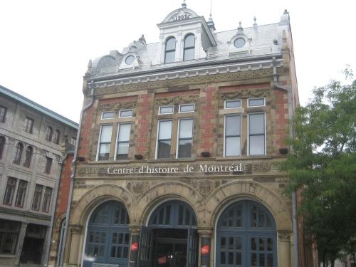 centre d'histoire de montreal quebec