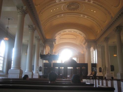 memorial church interior harvard yard