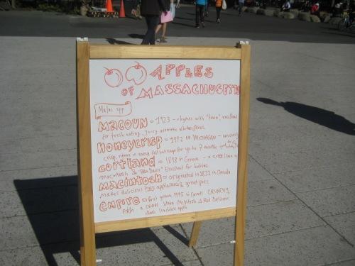 apples massachusetts farmers market