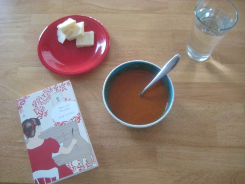 pride and prejudice soup lunch