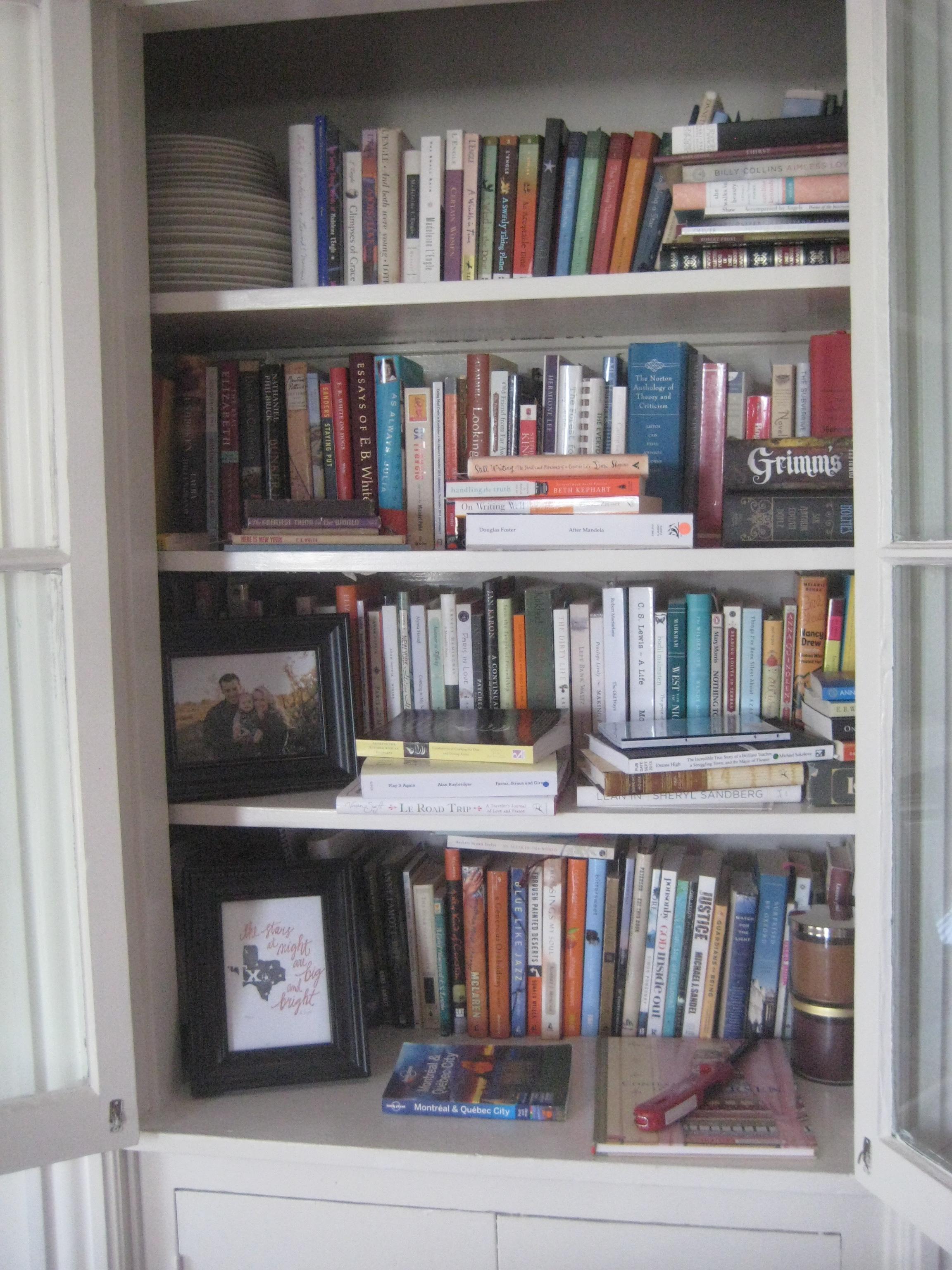 Whats On My Bookshelves